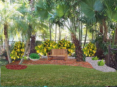 Landscape services south florida landscape design for Florida landscape design
